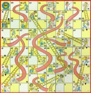 Chutes and Ladders:  Random and Judgmental